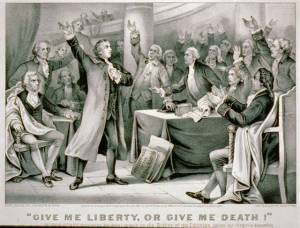Patrick Henry Give Me Liberty of Give Me Death