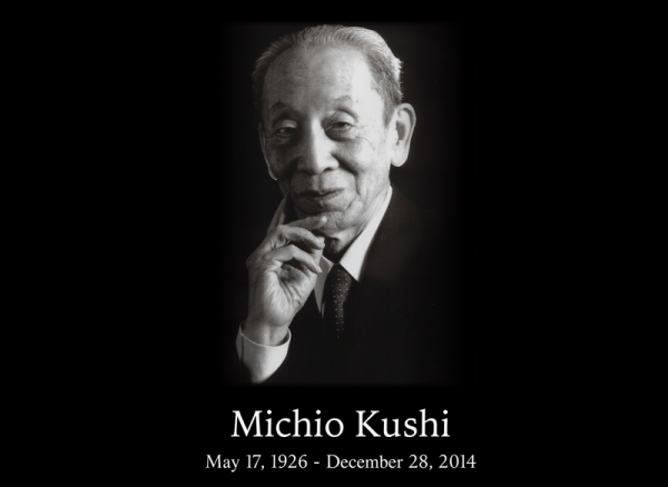 Michio Kushi (May 17, 1926 - December 28, 2014)