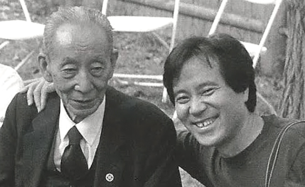 Michio and Norio, July 2001 - Photo by Seth Levine