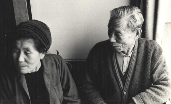Michio's parents in 1965