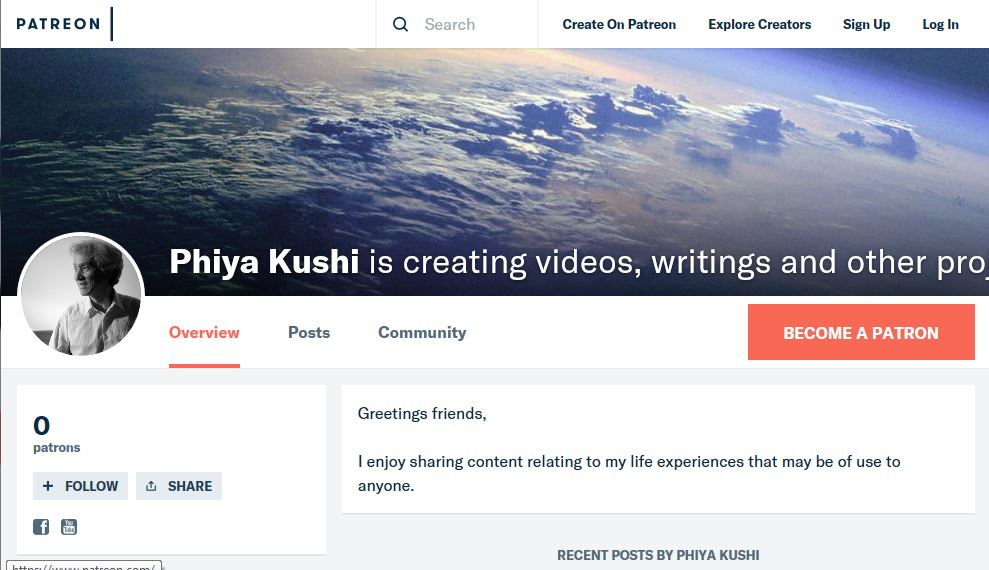 Capture Patreon Page